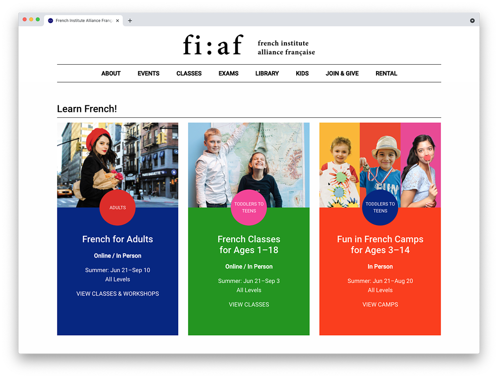 FIAF-Home