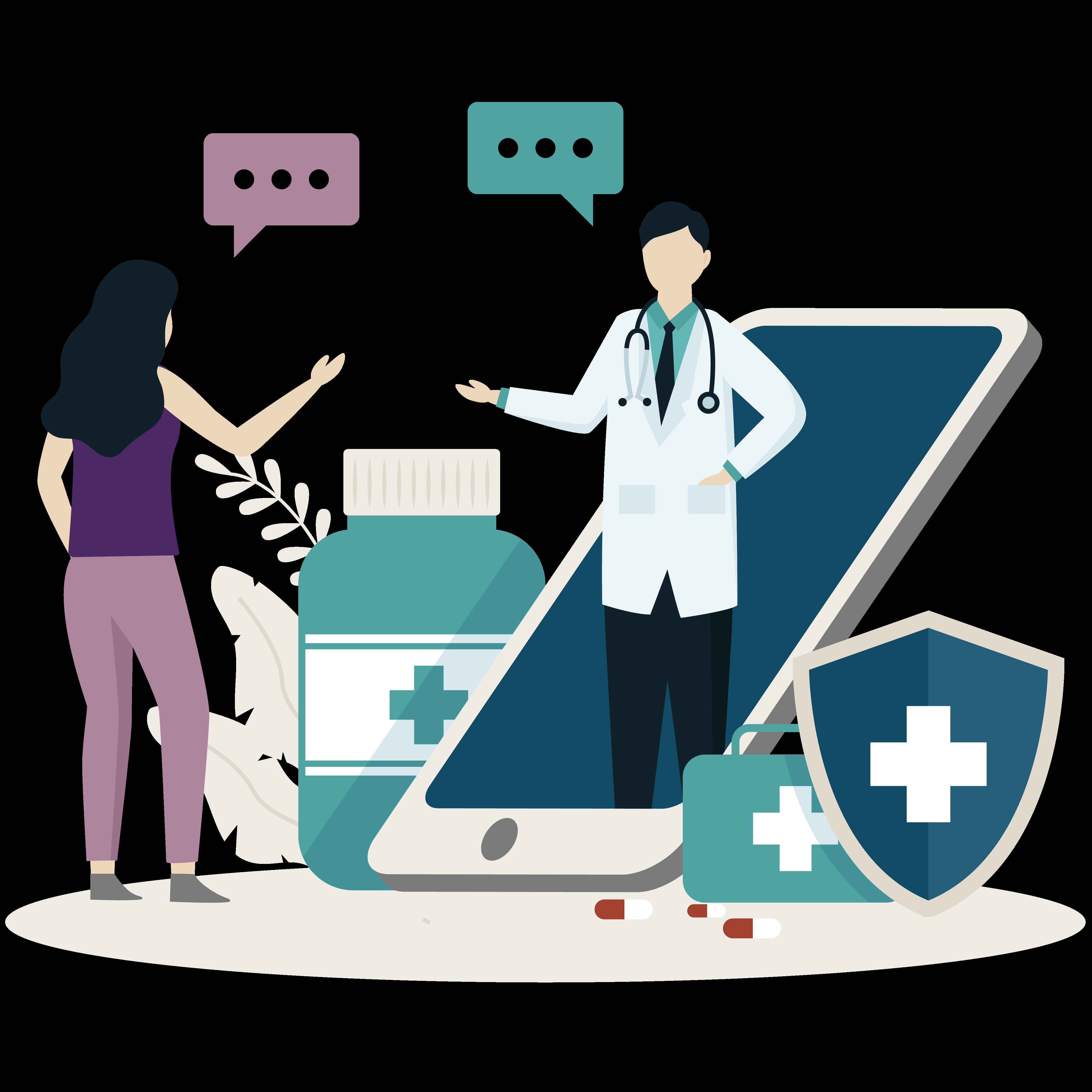 Healthcare-illu